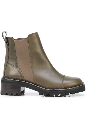 See by Chloé Ankle-length leather boots
