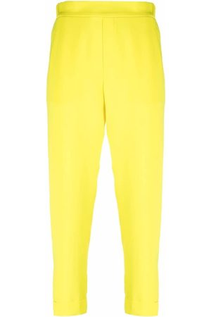 P.A.R.O.S.H. Damen Capris - High-waisted cropped trousers