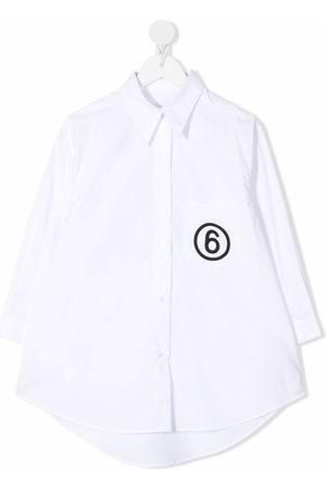 MM6 KIDS Mädchen Shirts - Logo-print shirt