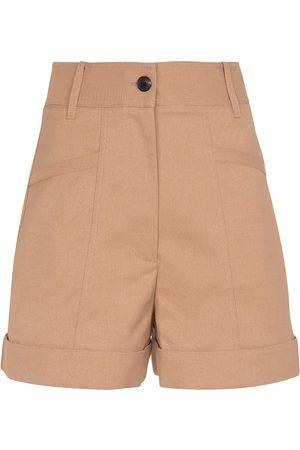 Victoria Beckham High-Rise Shorts aus einem Baumwollgemisch
