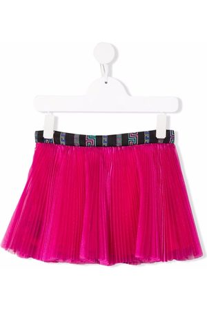 VERSACE Micro-pleat skirt