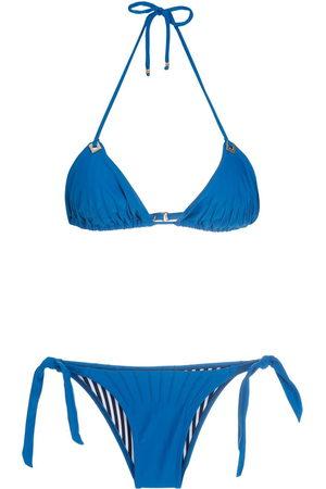 AMIR SLAMA Triangel-Bikini mit Neckholder