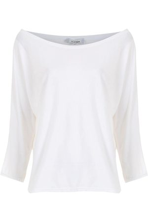 AMIR SLAMA Schulterfreies T-Shirt