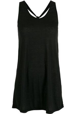 AMIR SLAMA Damen Freizeitkleider - Minikleid mit Knoten