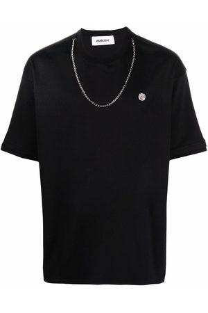 AMBUSH Shirts - CHAIN COLLAR T-SHIRT BLACK TOFU