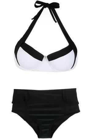 AMIR SLAMA Damen Bikinis - Zweifarbiger Bikini