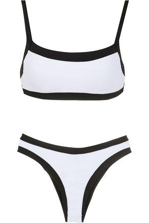 AMIR SLAMA Zweifarbiger Bikini