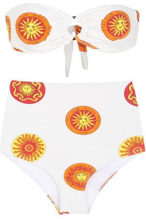 AMIR SLAMA Damen Bikinis - Bikini mit grafischem Print