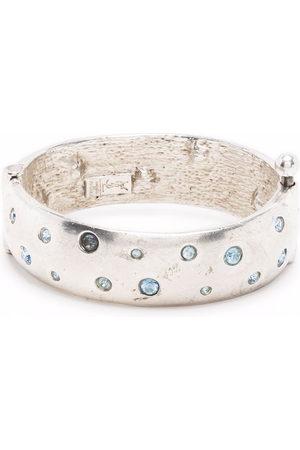 Yves Saint Laurent Damen Armbänder - 1990s Armband mit Kristallen