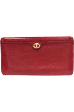 Dior 1970s pre-owned Oblique plaque clutch