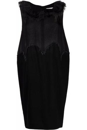 Yves Saint Laurent Pre-Owned 2000s Kleid mit Fransendetails
