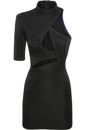 Stella McCartney Damen Freizeitkleider - Minikleid Aus Stretch-lurex