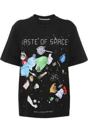 Stella McCartney T-shirt Aus Baumwolle Mit Druck