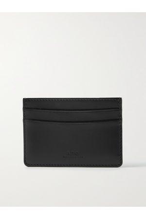 A.P.C. Logo-Debossed Leather Cardholder