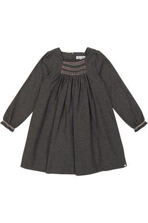 Tartine Et Chocolat Langärmliges Kleid aus Baumwolle