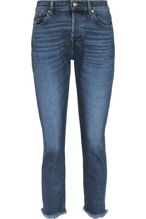 7 for all Mankind Mid-Rise Jeans Asher