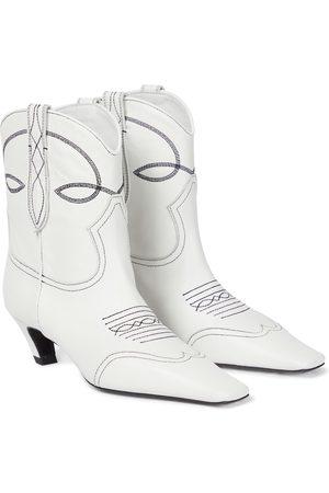 Khaite Ankle Boots Dallas aus Leder