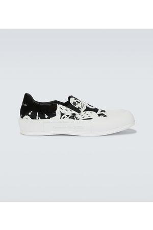 Alexander McQueen Bedruckte Sneakers Skull