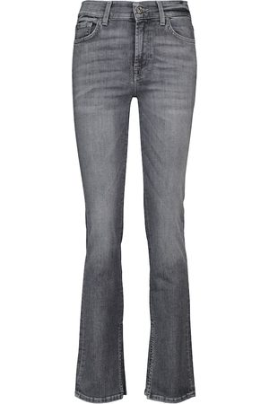 7 for all Mankind Mid-Rise-Jeans The Straight