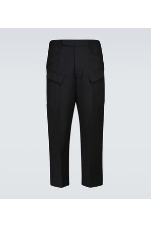 Rick Owens Cropped-Hose Astaires