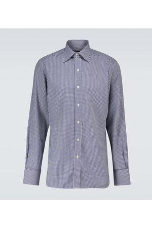 Tom Ford Kariertes Langarmhemd