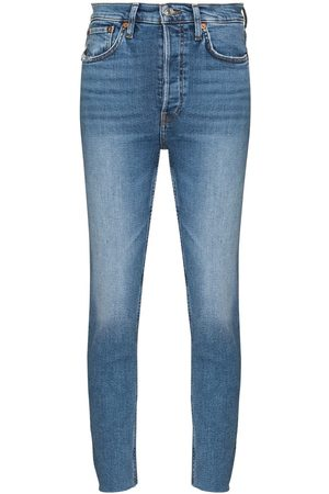 RE/DONE Damen High Waisted - 90s High Rise Ankle Crop jeans