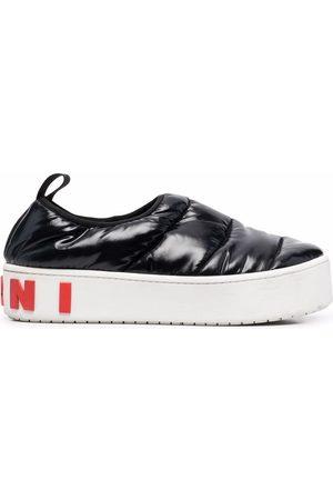 Marni Gefütterte Flatform-Sneakers