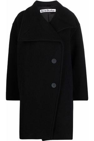 Acne Studios Damen Sommerjacken - Funnel neck coat