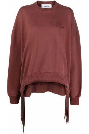AMBUSH Damen Sweatshirts - MULTICORD CREWNECK SABLE SABLE