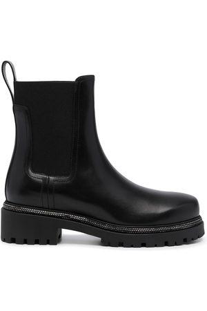 RENÉ CAOVILLA Damen Stiefeletten - Chunky leather boots