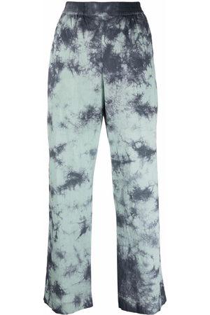 MCQ Tie-dye wide leg trouser