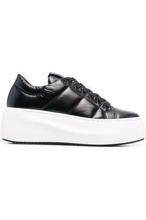 vic matiè Damen Sneakers - Quilted flatform sneakers