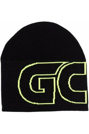 GCDS Strickmütze mit Logo-Print