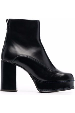 See by Chloé Chunky leather ankle boots
