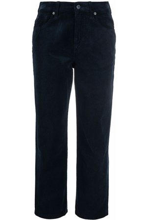7 for all Mankind The Modern Cropped-Cordhose