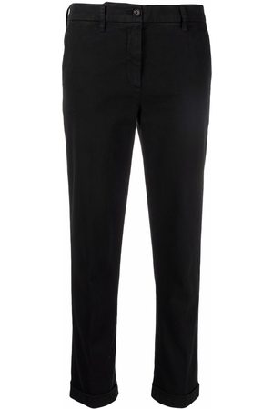 Aspesi Damen Hosen & Jeans - Mid-rise slim-fit trousers