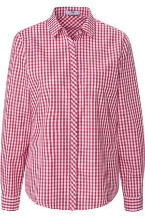 Peter Hahn Damen Blusen - Bluse Vichy-Karo pink