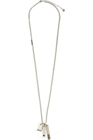 Dsquared2 Talisman Long Necklace W/ Tags