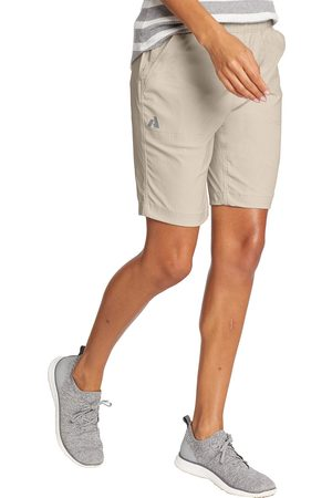 Eddie Bauer Damen Shorts - Guide Ripstop Shorts Damen Natur Gr. 4