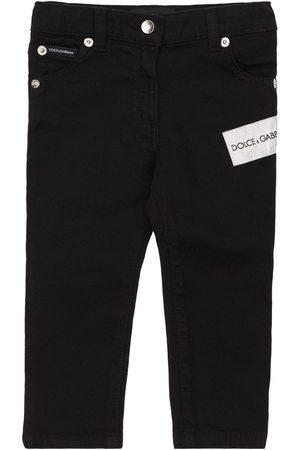Dolce & Gabbana Jeans Aus Verziertem Baumwolldenim