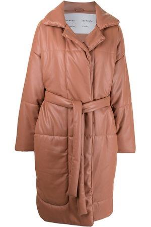 PROENZA SCHOULER WHITE LABEL Damen Trenchcoats - Gefütterter Mantel mit Gürtel