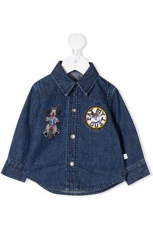 Stella McCartney Hemden - Hemd mit Patches