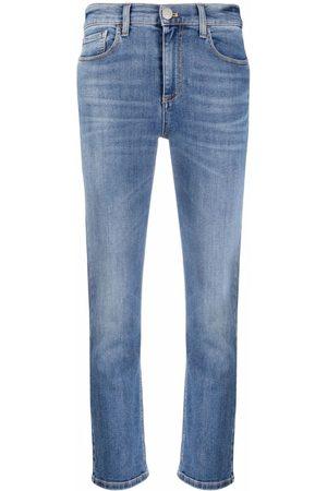 Pinko Skinny-Jeans mit Logo-Print