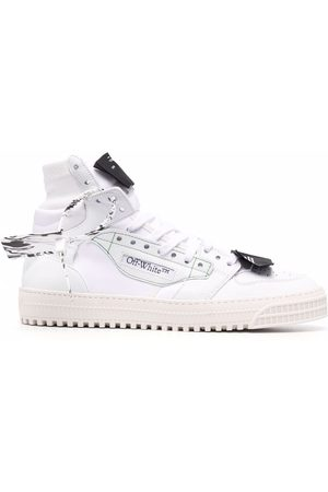 OFF-WHITE Herren Sneakers - 3.0 OFF COURT LEATHER MIX CANV WHITE NO COLOR