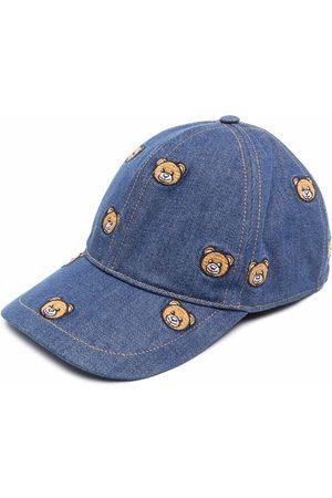 Moschino Herren Hüte - Baseballkappe mit Teddy-Stickerei