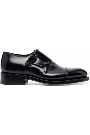 santoni Buckle-fastened monk shoes