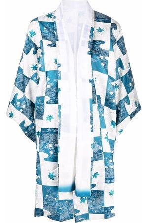 A.N.G.E.L.O. Vintage Cult 1970s Kimono mit Blumen-Print