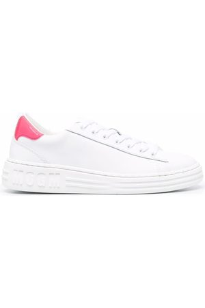 Msgm Contrasting heel-counter sneakers