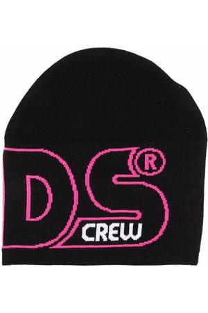 GCDS Strickmütze mit Logo