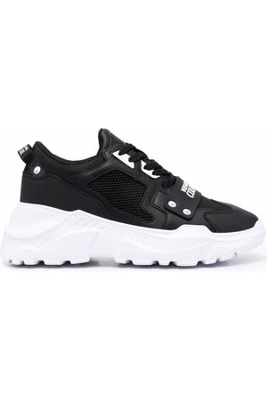 VERSACE Chunky lace-up sneakers